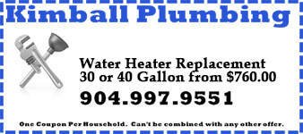 Coupon for Water Heater Replacement